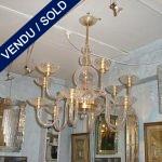"Verre de Murano transparent de ""PAULY"" - VENDU"