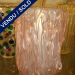 Pink vase in glass of Murano - SOLD
