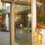 Ref: MI024 - Miroir entourage bois doré