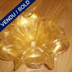 Gilded tidy in glass of Murano - SOLD