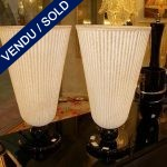 "Paire de vases signée ""SEGUSO"" Verre de Murano - VENDU"