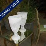 "Ref : V42 - Verre de Murano - Un vase ""SEGUSO"" - VENDU"