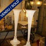 "Paire de vases ""SEGUSO"" en verre de Murano - VENDU"