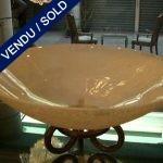 "Paire de coupes ""SEGUSO"" en verre de Murano - VENDU"