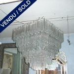 "360 pièces de verre de Murano ""TRIEDRI"" - VENDU"