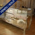 Buffet 2 gates,3 drawers in mirrors - SOLD