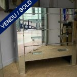 1 commode whole in mirror - SOLD