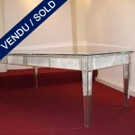 Table whole in mirror - SOLD
