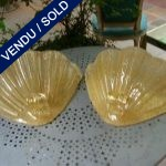 Gilded glass of Murano - SOLD