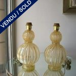 Ref : LL92 - Gilded Murano - SOLD
