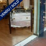 Epoque 1950 Engraved mirror on the sides - SOLD