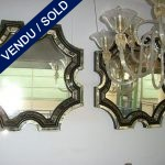 Set of mirrors in the style of S. ROCHE - SOLD