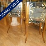 Set of nightstands - Mirrors - SOLD