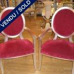 Paire de fauteuils 1980 - VENDU