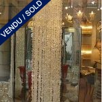Cascade de verre de Murano - VENDU