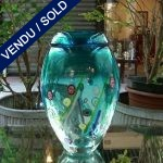 Signed by TOSO Glass of Murano and Murines - SOLD