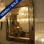 Engraved mirror of Murano - SOLD