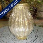 Murano doré signé TOSO - VENDU
