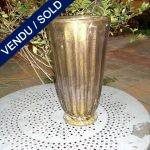 Glass of Murano gilded and amethyst signed by TOSO - SOLD