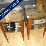 Set of nightstands 2 drawers - SOLD