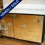Buffet Art Deco 2 doors in mirror - SOLD