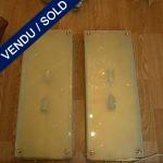 Ref : LA52 - Paire d'appliques de Murano - VENDU