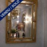 Mirror XIXth century golden wood - SOLD