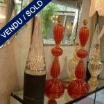 Golden red Murano - SOLD