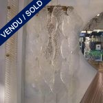 Ref : LA53 - Set of sconces in glass of Murano - SOLD
