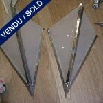 Paire d'appliques signées PETITOT - VENDU