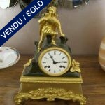 Gilt bronze clock XIXth Century - SOLD