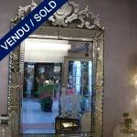 Epoque 50 venitian mirror - SOLD