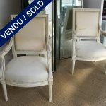 Set of armchairs Style Louis XVI - SOLD