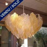 Murano leaves - SOLD