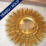 Sun-shaped mirror - SOLD
