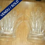 Set of Murano 16 leaves per sconce - SOLD