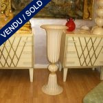 Set of commodes Years 70 in glass beige - SOLD