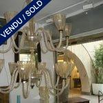 - 14 lumières Murano - VENDU