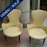 Paire de chaises années 50 - VENDU