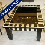Coffee table Black mirror - SOLD