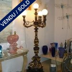 Set of floor lamps 5 branches - SOLD