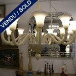 """TOSO"" Verre de Murano 12 lumières - VENDU"