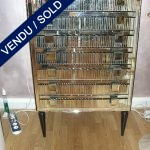 Weekly cabinet in mirror - SOLD