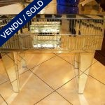 Ref : M67 - Set of nightstands in mirror - SOLD