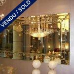 Miroir d'entrée avec console n° - VENDU