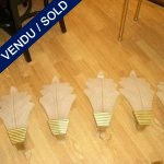 Set of 6 sconces Murano - SOLD