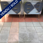 Ref : M247 - Tinted glass - SOLD