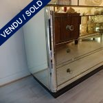 Ref : M985  - 1 commode whole in mirror - SOLD
