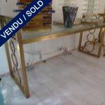 Un banc Métal + Murano - VENDU