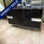 Set of black nightstands - SOLD
